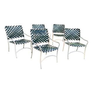 Vintage Tropitone Brown Jordan Chairs - Set of 5 For Sale