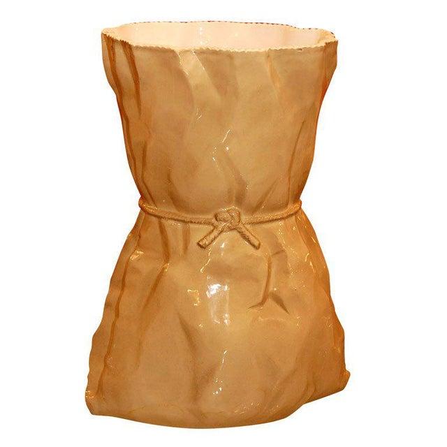 Italian Ceramic Vase For Sale - Image 9 of 9
