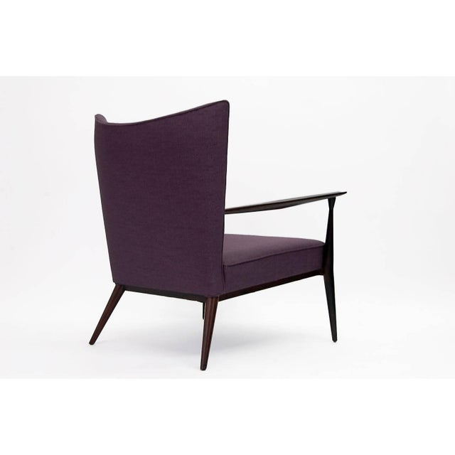 Paul McCobb 1950s Vintage Paul McCobb for Directional Fully Restored Lounge Chair For Sale - Image 4 of 8