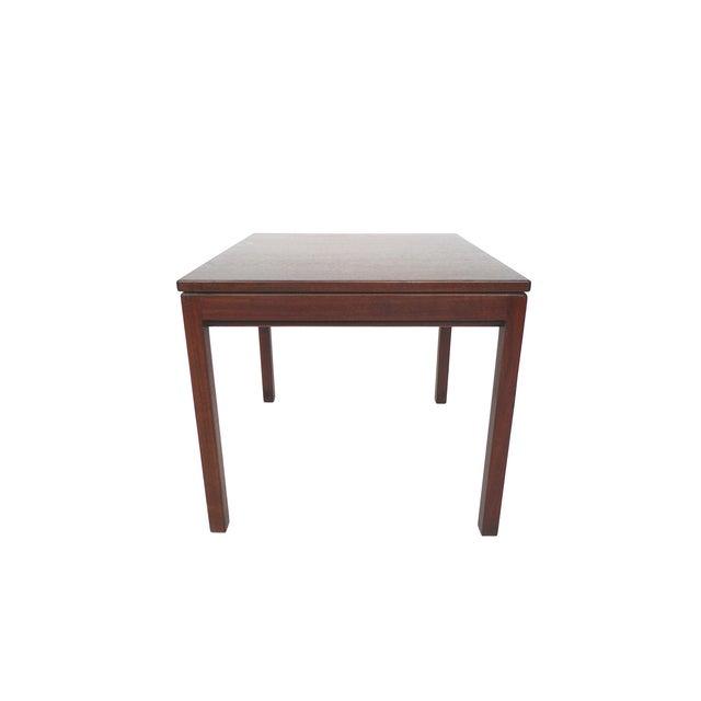 Jens Risom Danish Modern Walnut Side Table - Image 3 of 7