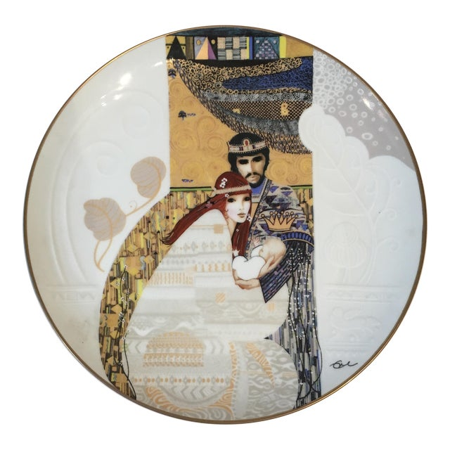 Bathsheba and Solomon Knowles China Plate For Sale