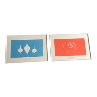 Eames Foundation Limited Edition Prints - A Pair For Sale