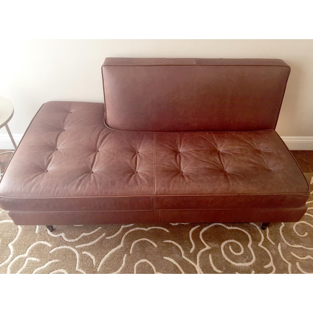 Room & Board Brown Leather Sofa - Image 2 of 3