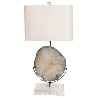 Organic Modern Agate Lamp For Sale