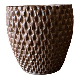 1970s Phoenix-1 Stoneware Planter by David Cressey for Architectural Pottery For Sale