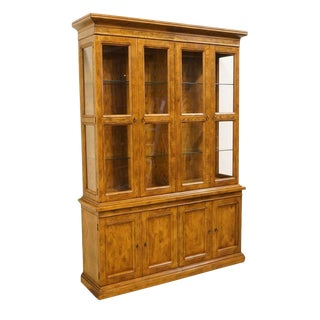 Late 20th Century Vintage Henredon Artefacts Collection China Cabinet For Sale