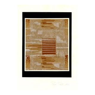 """Design"", Original Gouache on Paper, Circa 1930 For Sale"