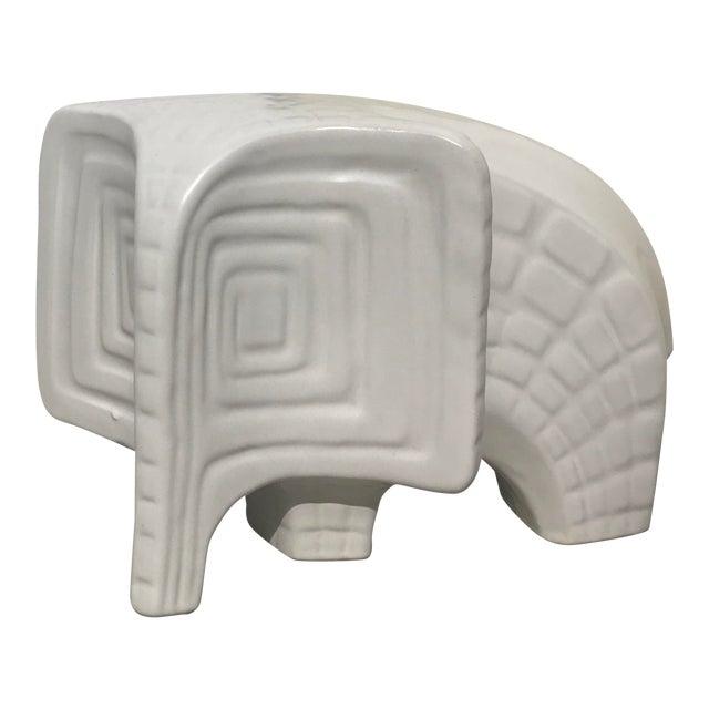 Jonathan Adler Ceramic Menagerie Elephant For Sale
