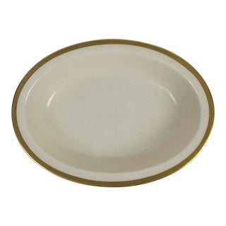 Lenox China Tuxedo Presidential Oval Serving Bowl For Sale