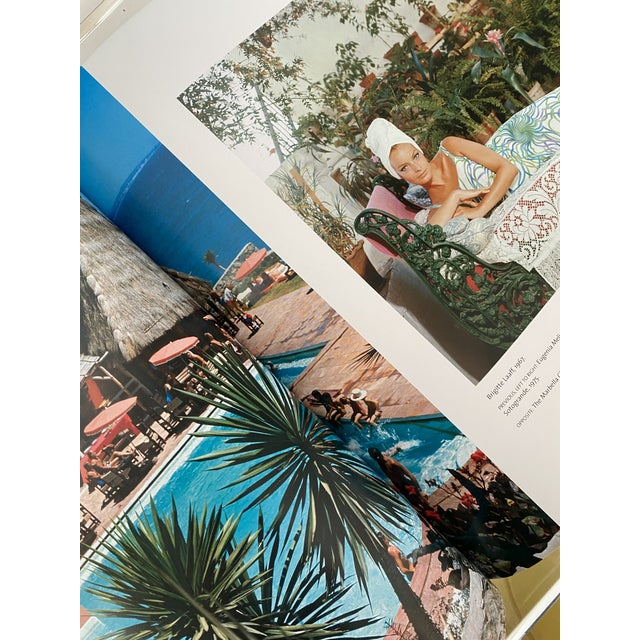 "Mid-Century Modern ""Slim Aarons a Place in the Sun"" First Edition Printing Book For Sale - Image 3 of 5"