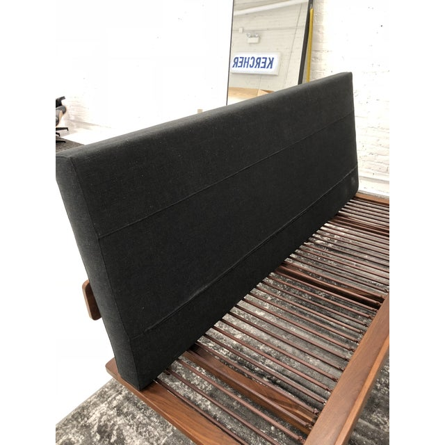 1970s Museum Piece - Arden Riddle Mid Century Modern Sofa Daybed For Sale - Image 5 of 11