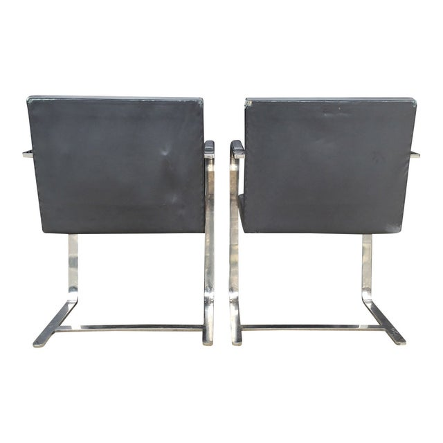 Vintage Mies Van Der Rohe Brno Chairs - A Pair - Image 4 of 6