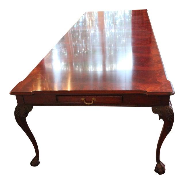 Henredon Rittenhouse Mahogany Dining Room Table | Chairish
