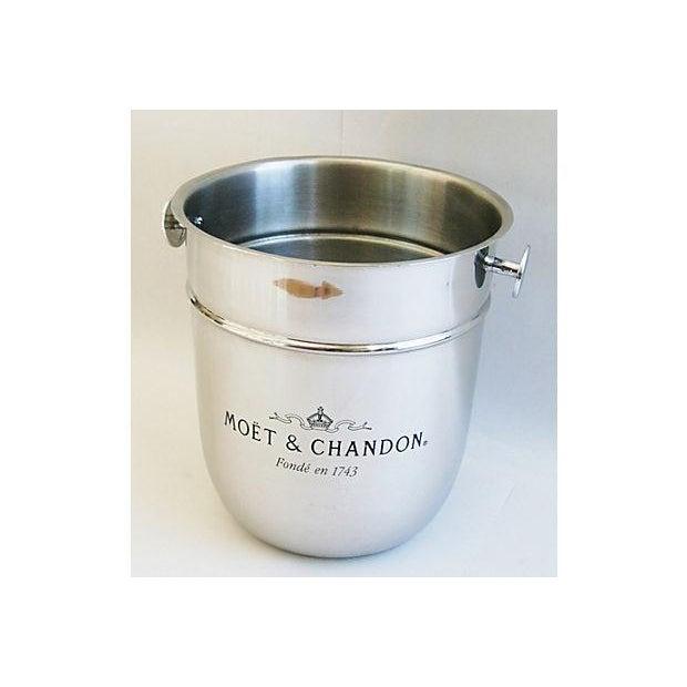 Vintage French Moët & Chandon Champagne Chiller - Image 4 of 8