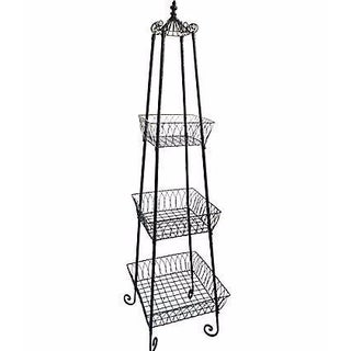 French Wrought Iron Garden Étagère For Sale