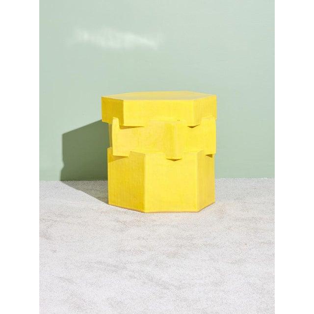 BZippy & Co. Ceramic Side Table For Sale In New York - Image 6 of 6