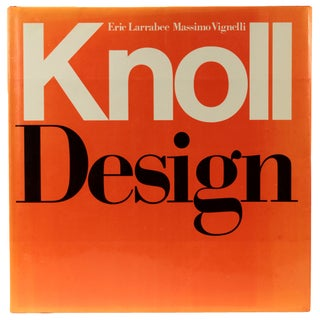 Knoll Design, First Edition Book