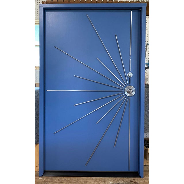 Brown Mid-Century Modern Door for Residences For Sale - Image 8 of 12