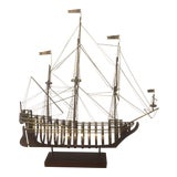 Image of 1980 Curtis Jere Mid-Century Modern Ship Sculpture For Sale