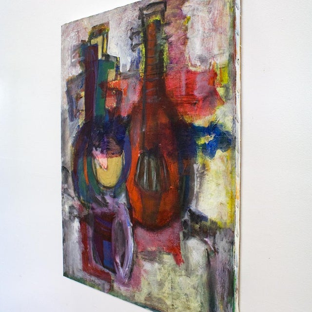 Instrumental Abstract Painting - Image 6 of 7
