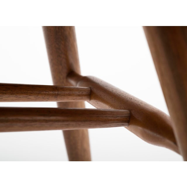 Wood Set of Six Early George Nakashima New Chairs, United States, 1958 For Sale - Image 7 of 13