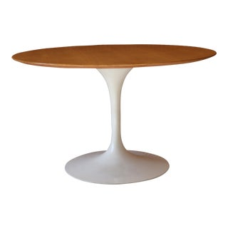 "48"" Original and Early Eero Saarinen Tulip Dining Table for Knoll"