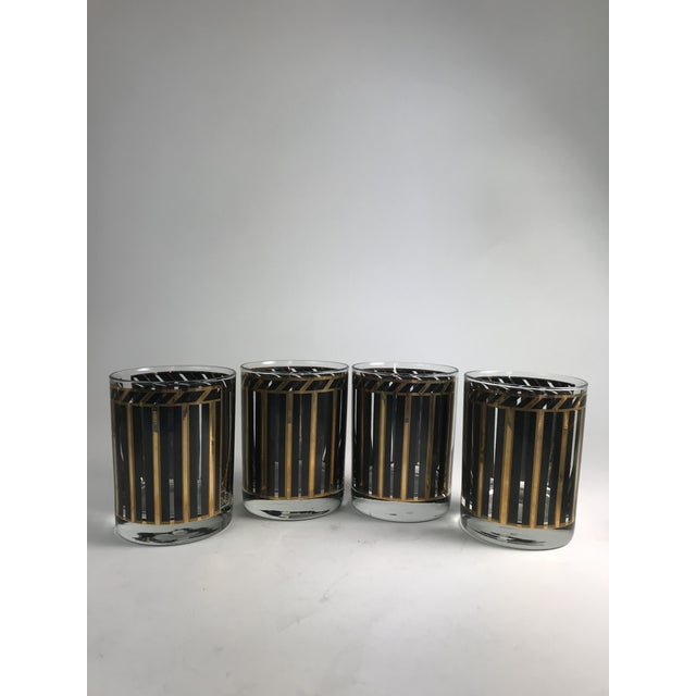 1950s 1950s Mid-Century Modern Georges Briard Rocks Glasses - Set of 4 For Sale - Image 5 of 5