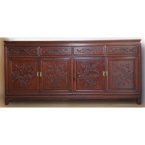 Hand Crafted Rosewood Sideboard - Image 2 of 5