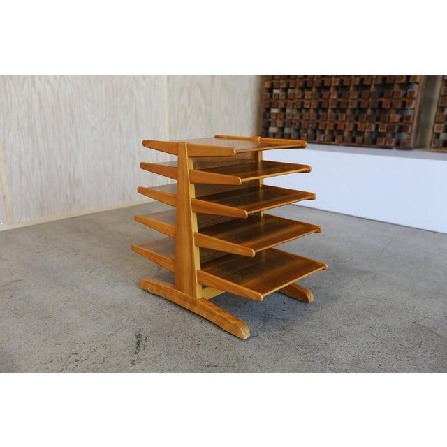 Dunbar Furniture Mid-Century Modern Edward Wormley for Dunbar Magazine Tree For Sale - Image 4 of 10