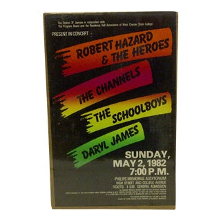 West Chester State College Concert Series Poster For Sale
