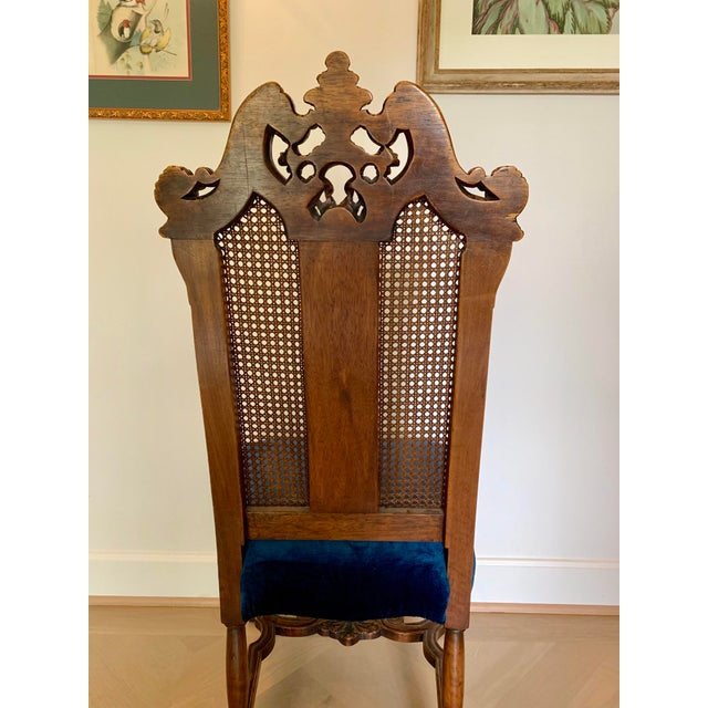 Early 20th Century Early 20th Century Vintage Italian Rococo Chair For Sale - Image 5 of 10