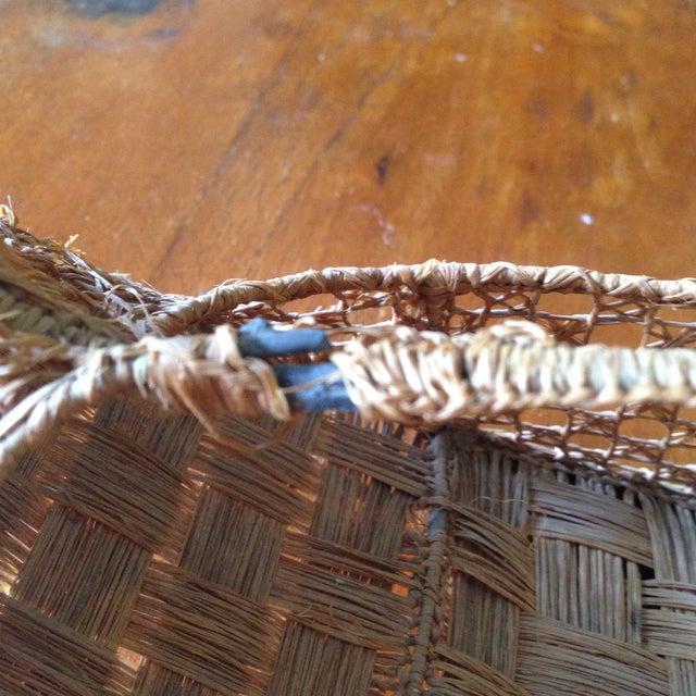 Vintage Italian Straw/Wicker Duck Basket - Image 6 of 11