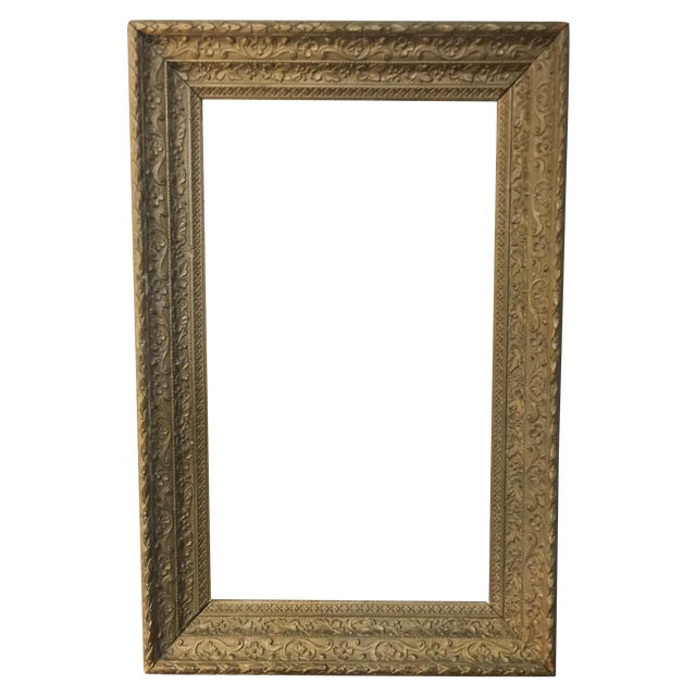 Large Antique Gilt Wood Frame - Image 1 of 8