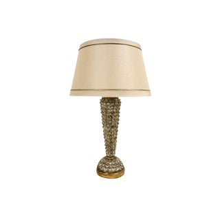 Unusual Designer Gilt-Wood Table Lamp - Scandia by Randy Esada For Sale