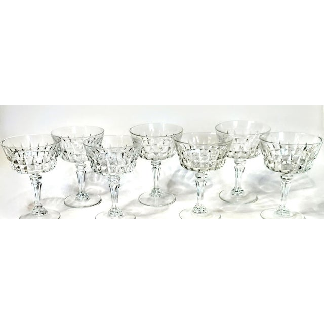 If you want stemware with bling, these are it. I have a set of 6 plus one to cover the little oopsies of life. Cross your...