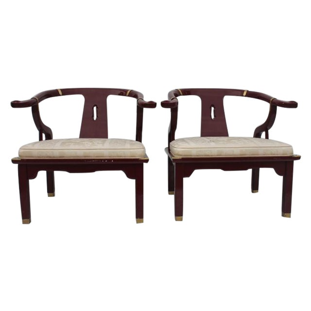 James Mont Chairs by Century a Pair. - Image 1 of 8