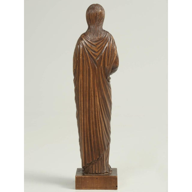 Wood Wood Carving by the French Sculptor R. Vergnes, Circa 1949 For Sale - Image 7 of 9
