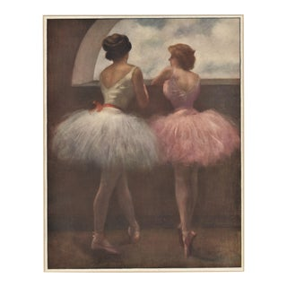 1910s Ballerina Dancers Print by Pierre Carrier-Belleuse, Matted For Sale