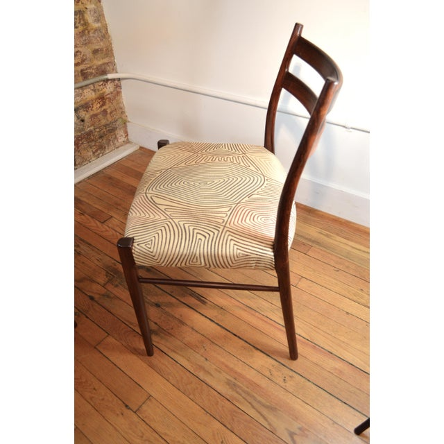 Arne Wahl Iversen Rosewood Dining Chairs - a Pair For Sale - Image 6 of 6