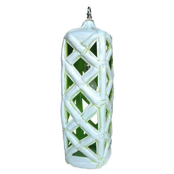1960's Porcelain Pendant Lamp - Image 1 of 4