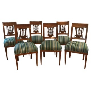 Early 19th Century Empire Chairs- Set of 6 For Sale