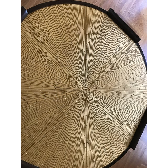 Contemporary Thomas Pheasant for Baker Radiant Center Table For Sale - Image 3 of 6