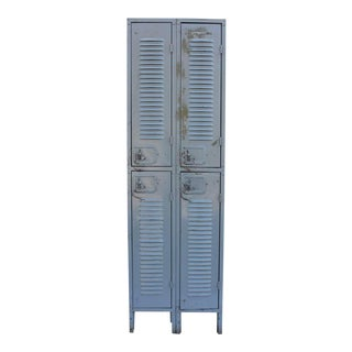 Antique Industrial Metal Lockers