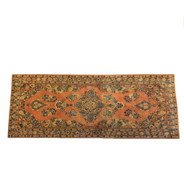 """Leon Banilivi Antique Persian Sarouk 6'6"""" X 2'7"""" - Image 1 of 4"""