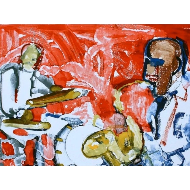 Romare Bearden Out Chorus (Rhythum Section) 1979 For Sale