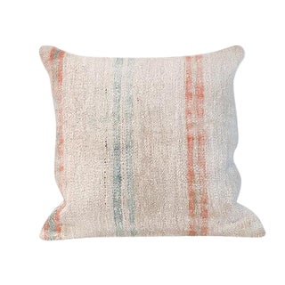 Kim Salmela Turkish Kilim Square Pillow For Sale