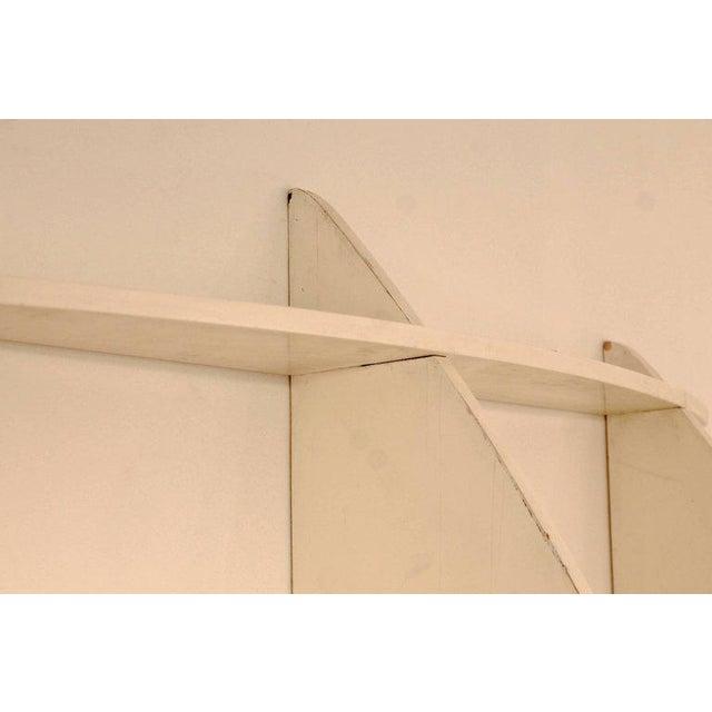 "White ""Tyko"" Lacquered Wood Bookshelf by Manfredo Massironi for Nikol International For Sale - Image 8 of 11"