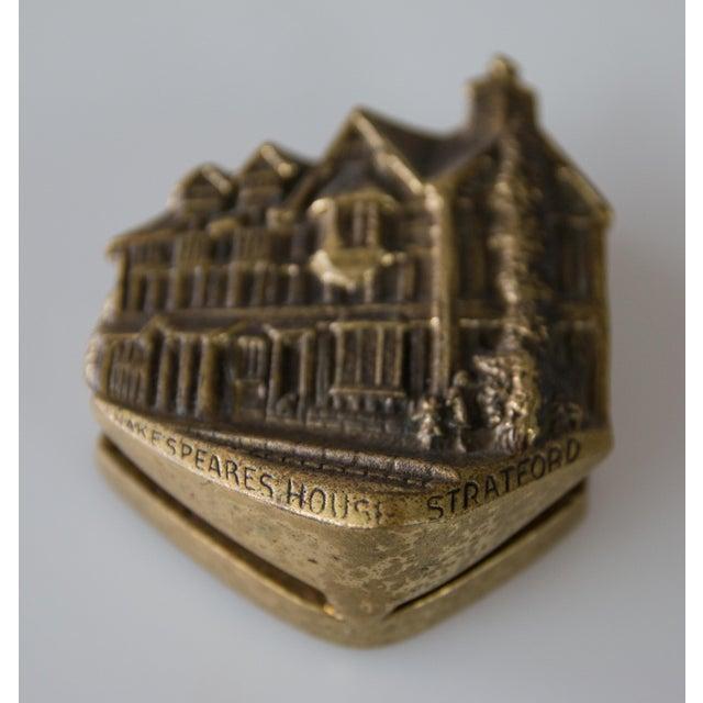English Brass Shakespeare's House Door Knocker For Sale In Houston - Image 6 of 7