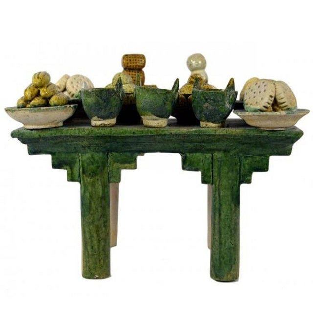 Ming Dynasty Terracotta Funeral Table from China, 15th-16th Century For Sale - Image 10 of 10