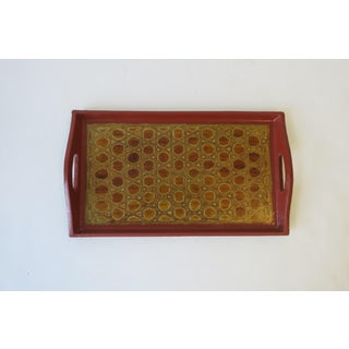 Terracotta and Black Lacquer Tray Preview